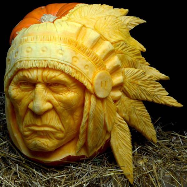 Jack-O-Lantern Indian