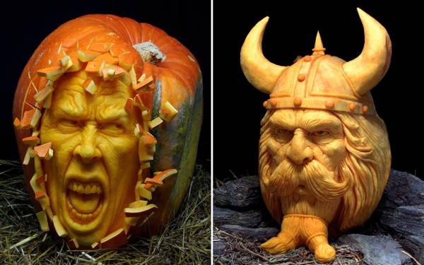 Jack-O-Lantern Vikings