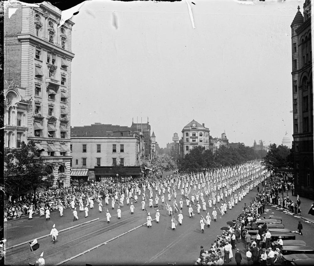 Ku Klux Klan Washington DC March 1925