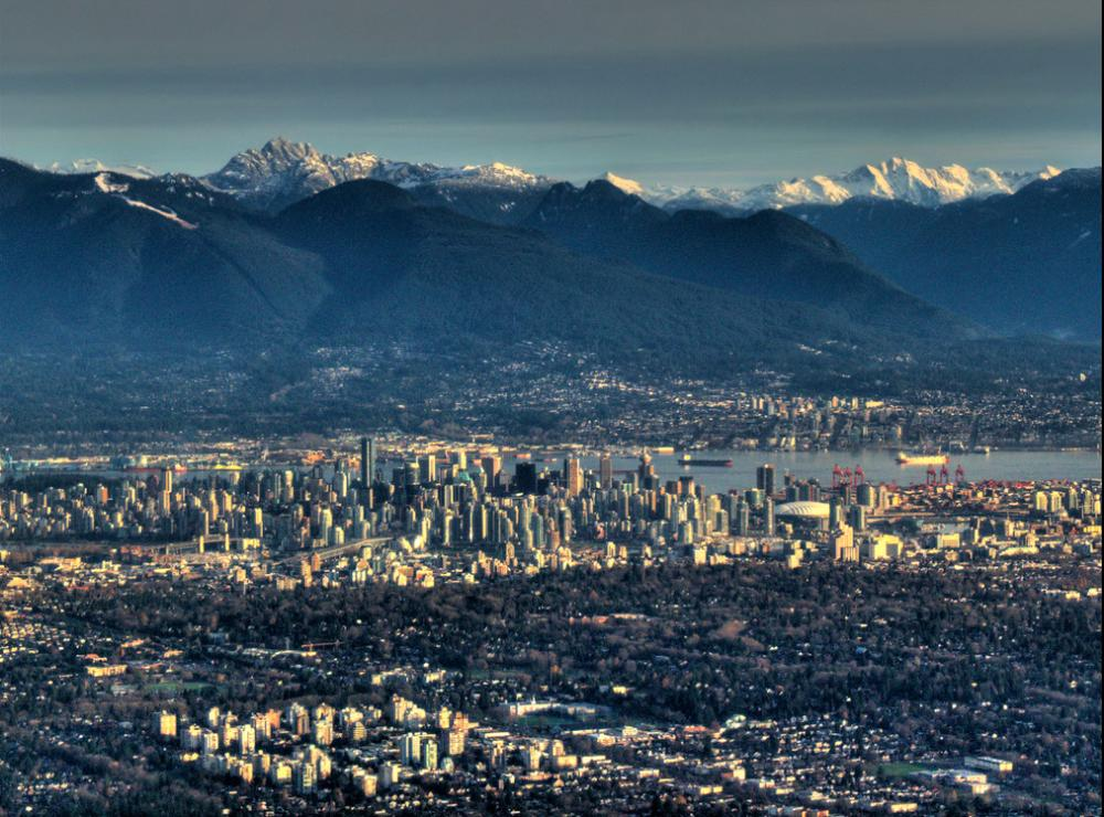 Vancouver's Scenic Backdrop