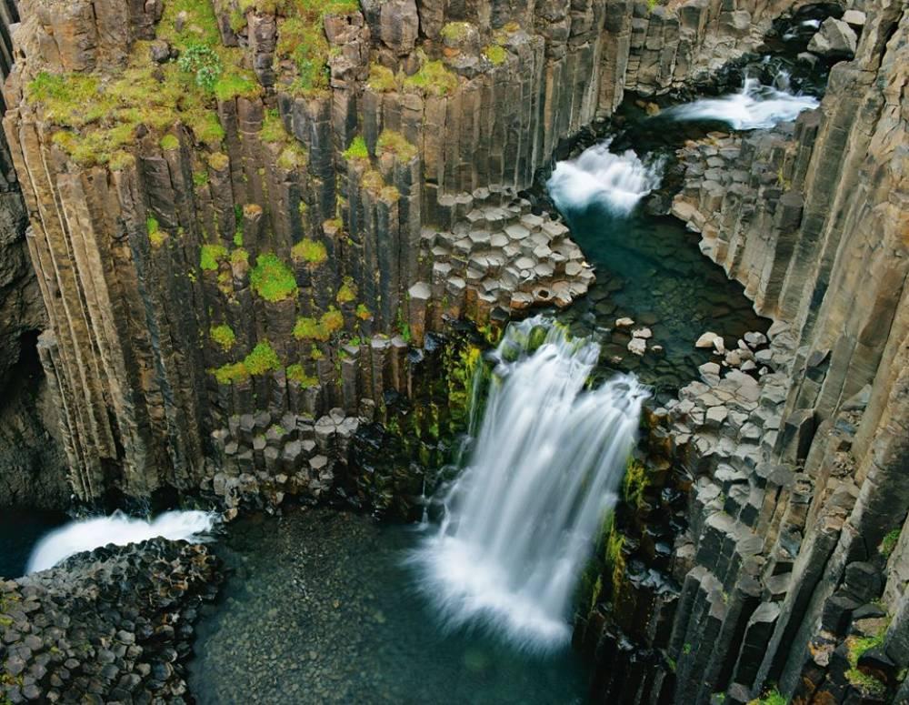 Litlanesfoss Waterfall Photograph