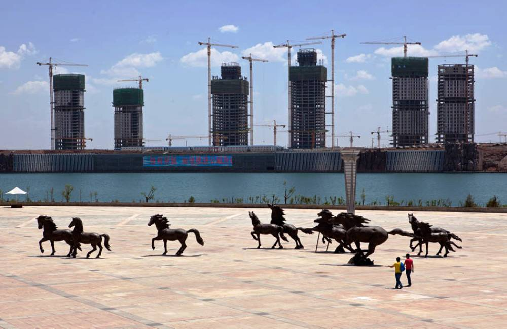 Ghost City of Ordos Photograph