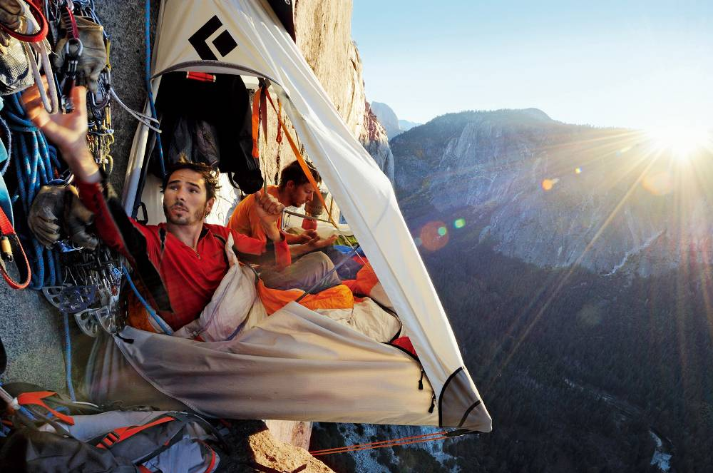 portaledge over yosemite valley A Different Kind Of Camping
