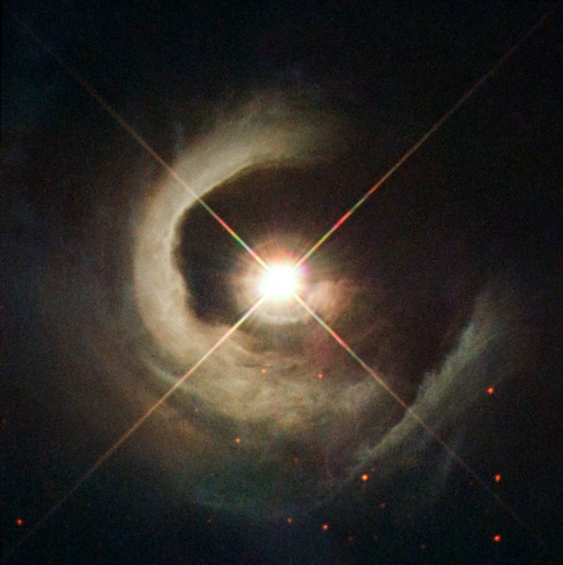 Reflection Nebula Central Star
