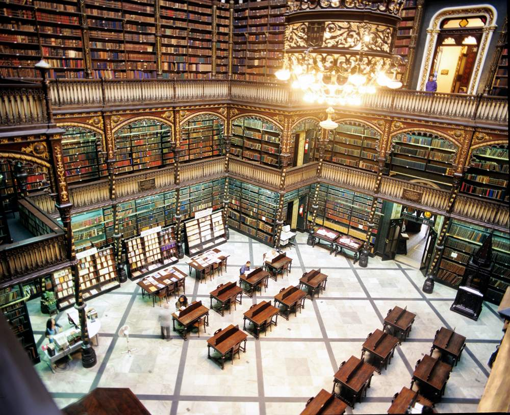 Rio De Janeiro's Royal Portuguese Reading Room