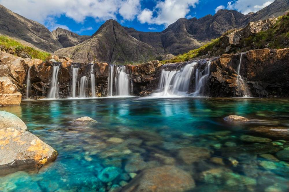 Whimsical Fairy Pools Of Scotland