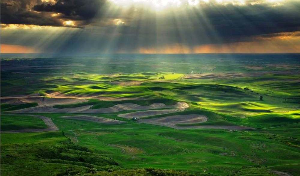 Washington's Stunning Steptoe Butte State Park