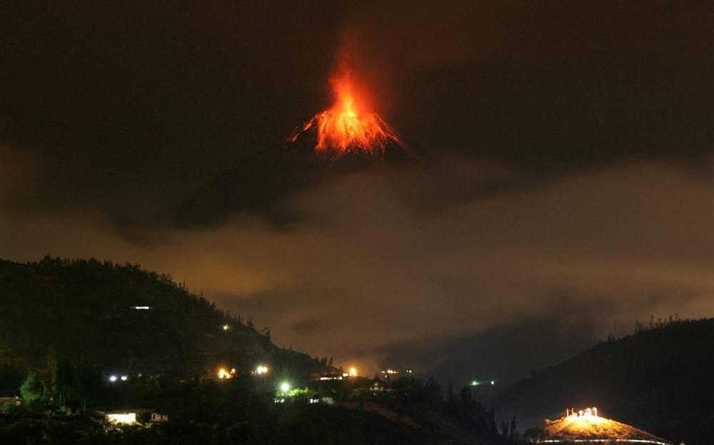 Ecuador's Tungurahua Volcano