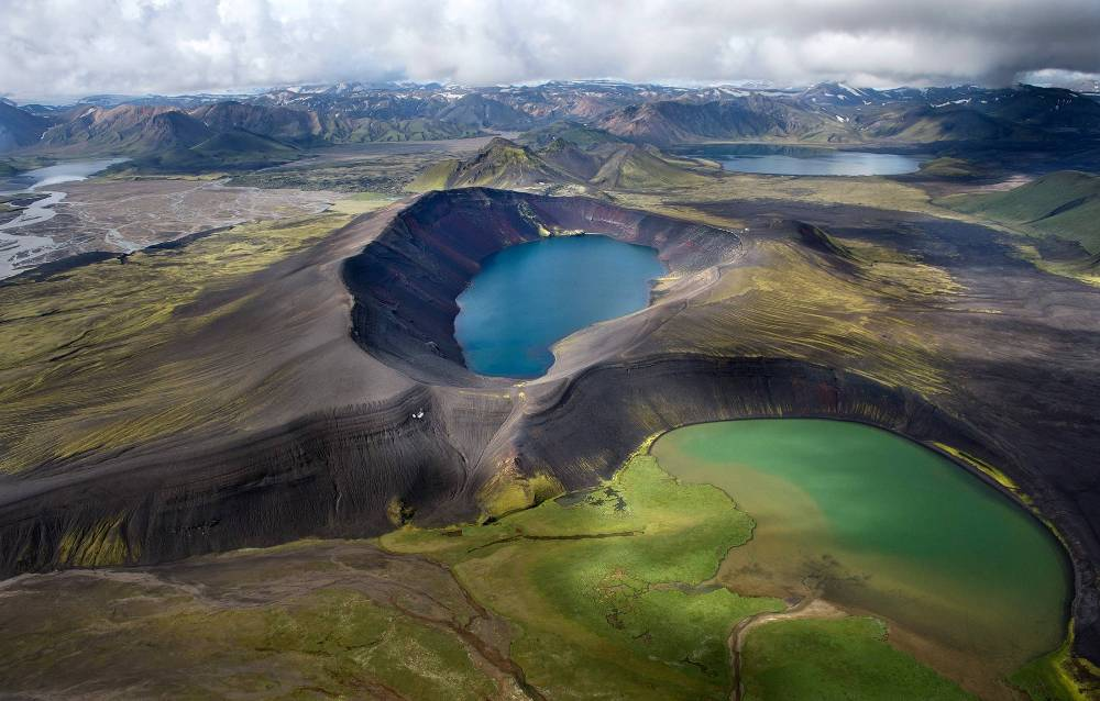 Vast Volcanoes Of Iceland