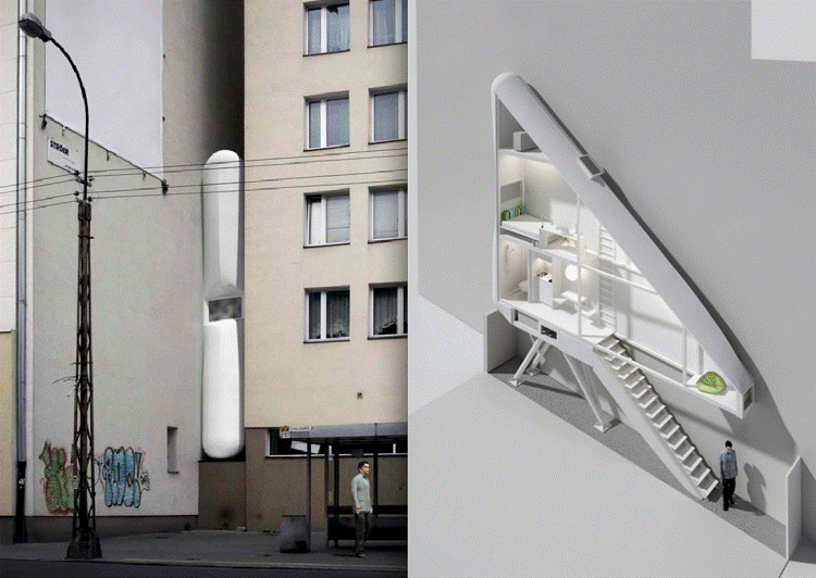 Smallest House Part - 30: Keret House Tiniest Houses