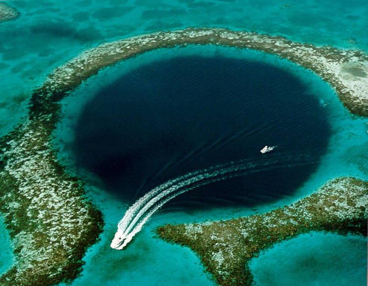 Great Blue Sinkholes
