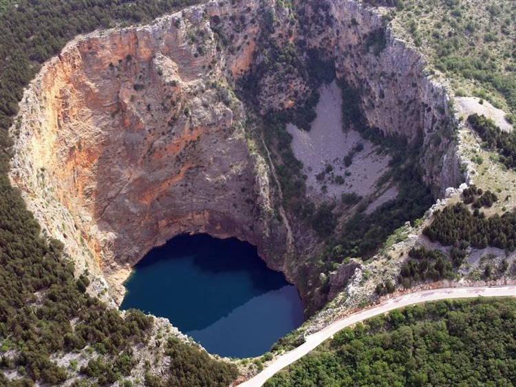 Red Lake Sinkholes
