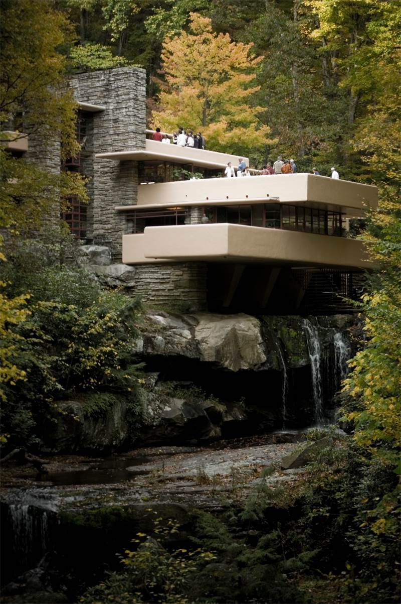 The most famous designs of frank lloyd wright for Frank lloyd wright list of houses