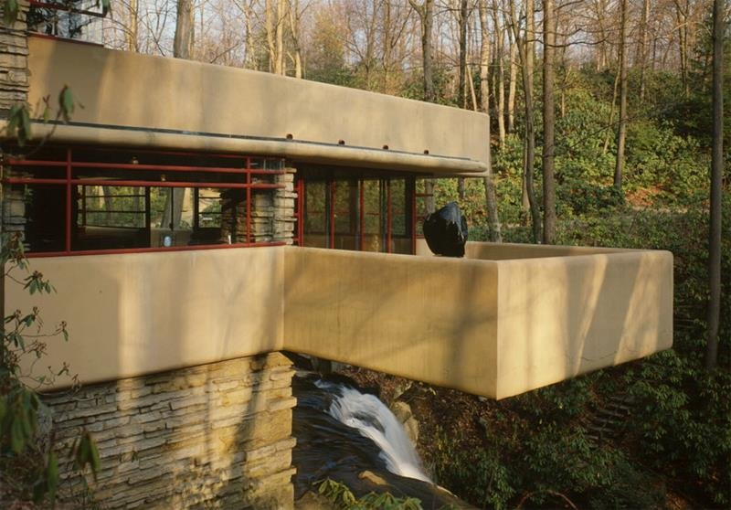 Frank Lloyd Wright Designs Falling Water