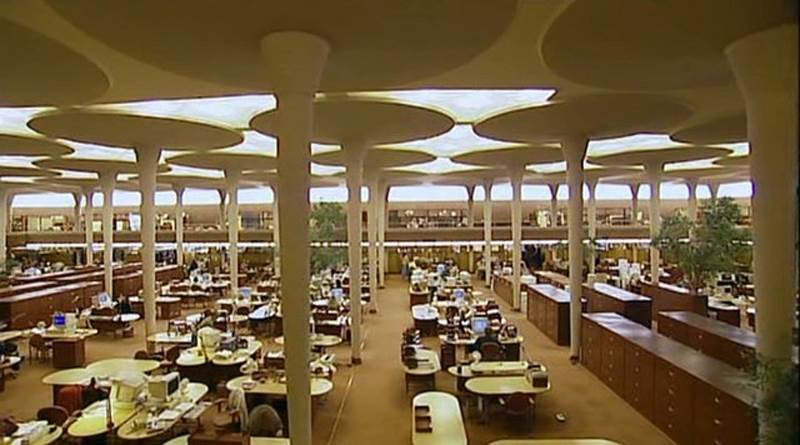 Johnson Wax Designs Of Frank Lloyd Wright