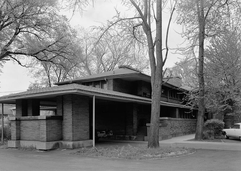 Designs of Frank Lloyd Wright Martin House