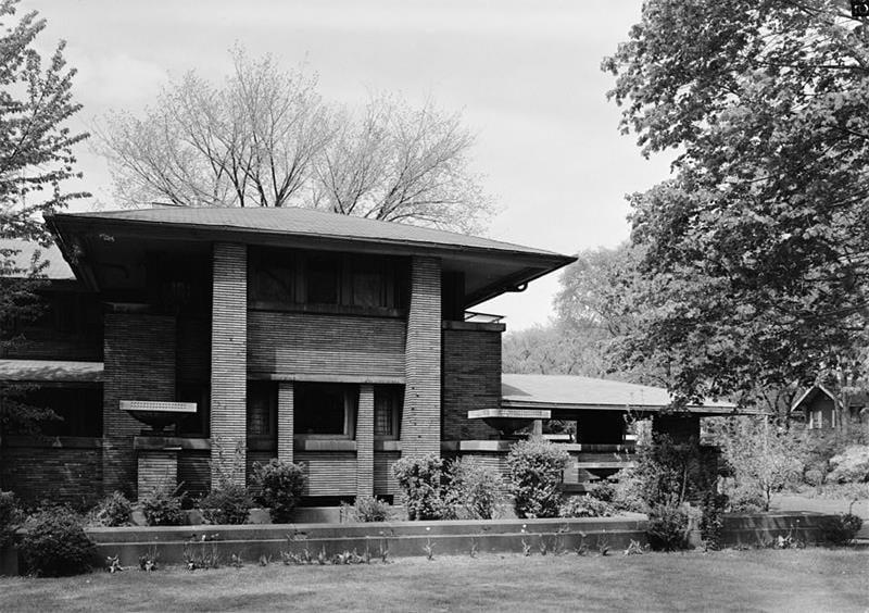 Frank Lloyd Wright Designs Martin House 2