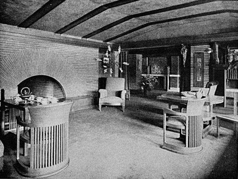 MostFamousDesignsofFrankWrightMartinHouse4 The Most Famous Designs Of Frank Lloyd Wright
