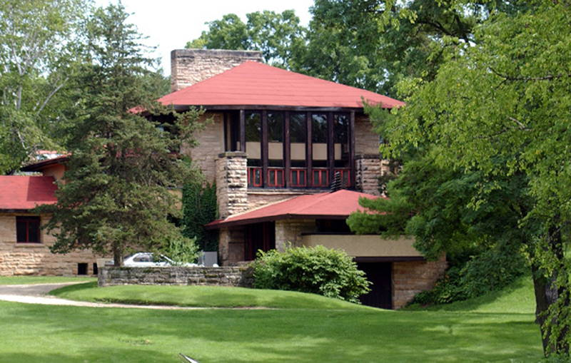 Famous Designs Of Frank Lloyd Wright: Taliesin