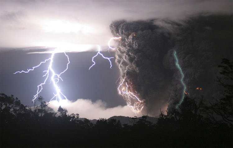 Chaiten Volcano Eruption