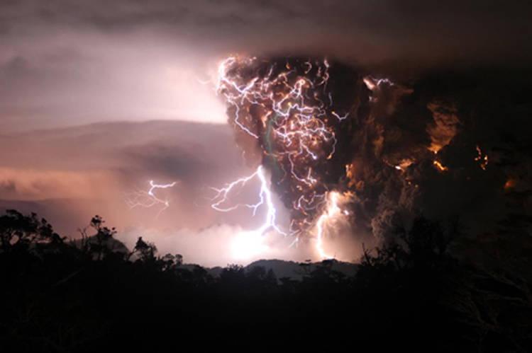Chaiten Volcano Eruptions
