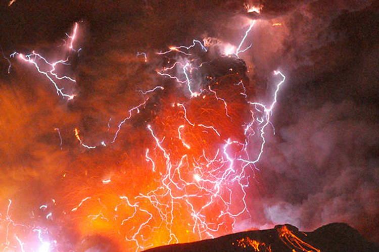 Shinmoedake Volcano Eruptions