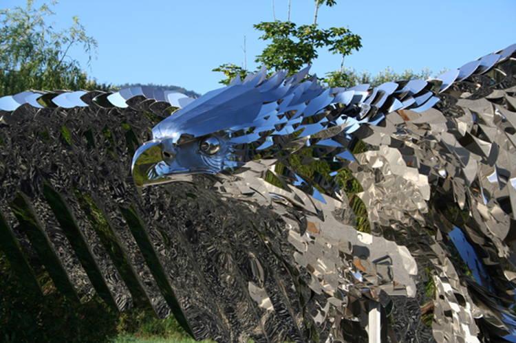 Power Of Flight Sculpture