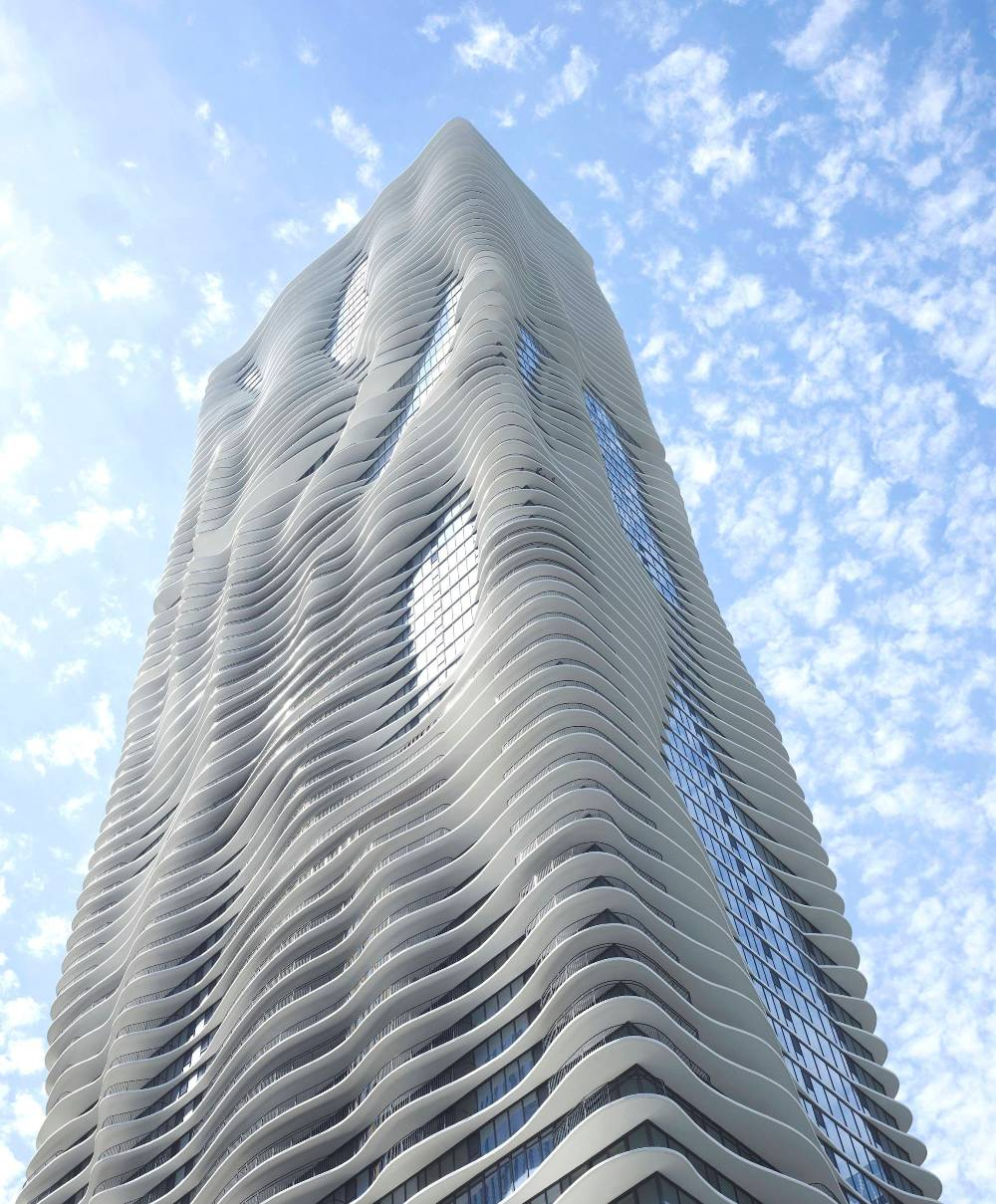 aqua tower chicago Chicagos Astounding Aqua Tower
