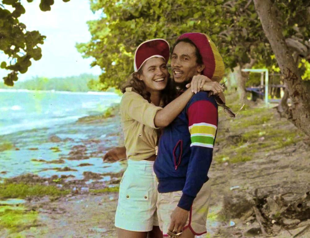 Bob Marley Cindy Breakspeare Photo