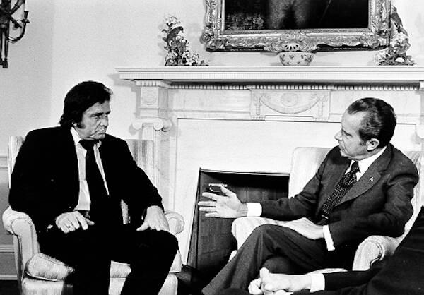 Johnny Cash Meets Richard Nixon