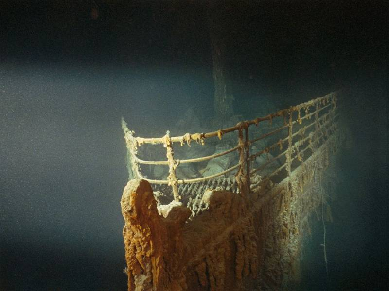 Iconic National Geographic Photos Titanic