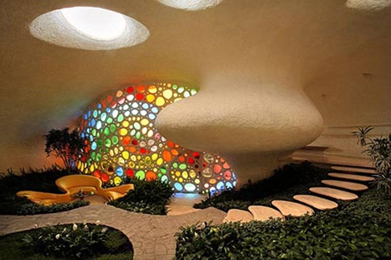 Mexico City Seashell House