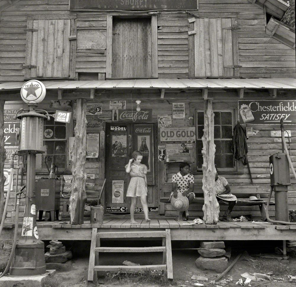 country storefront 1939 A Rare View Of 20th Century Rural America