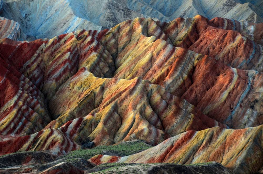 Danxia Mountains China