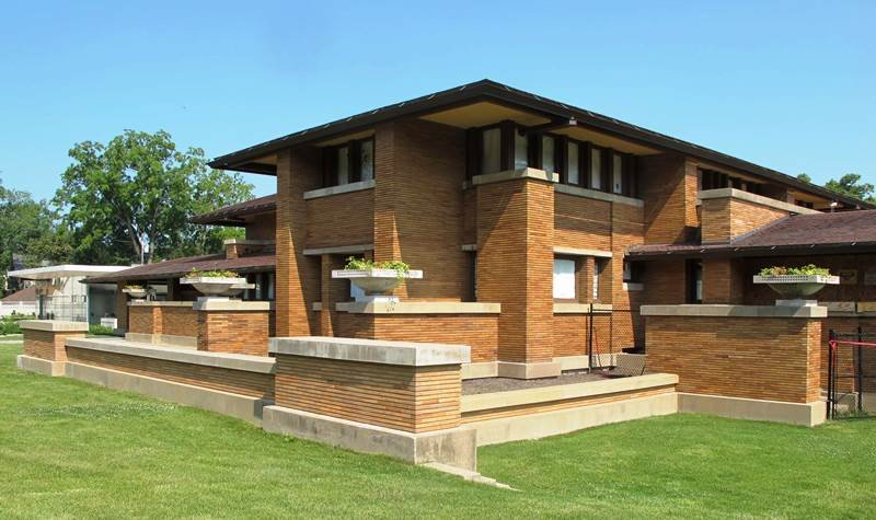 the most famous designs of frank lloyd wright. Black Bedroom Furniture Sets. Home Design Ideas