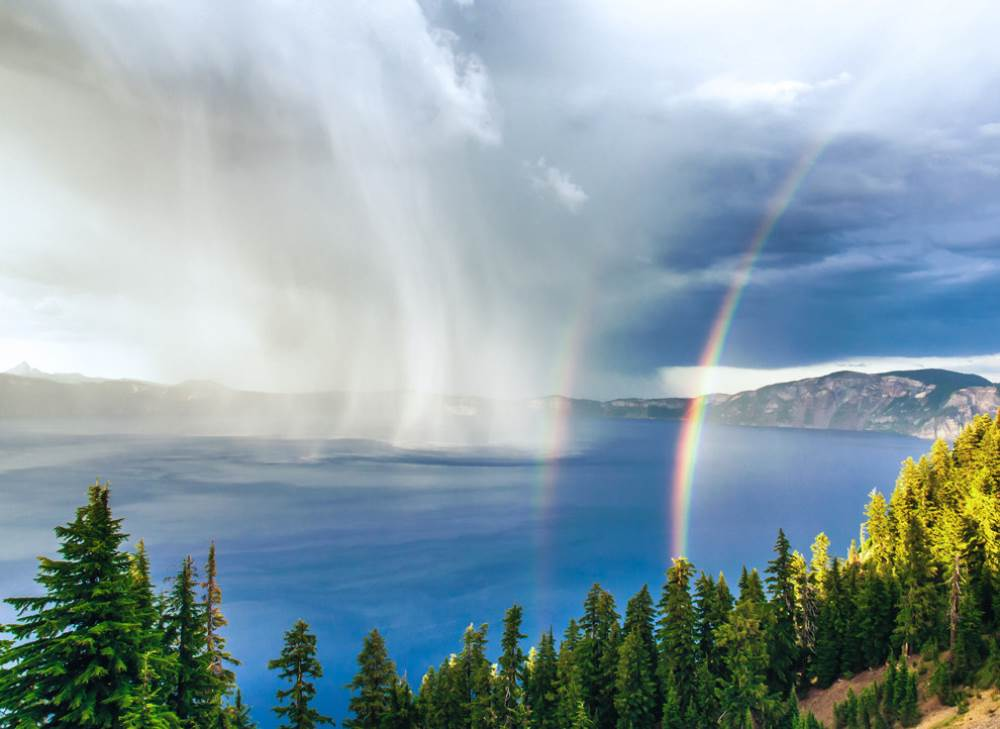 Storm Crater Lake