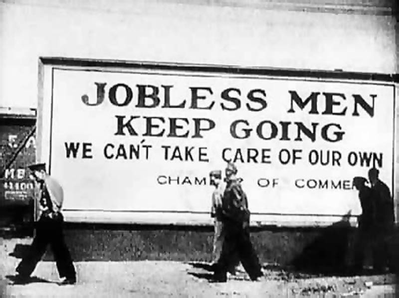 Great Depression In Pictures Unemployment