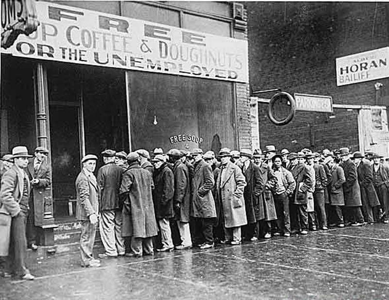 Great Depression In Pictures Economic Desperation