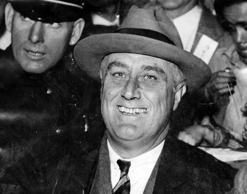Great Depression In Pictures FDR