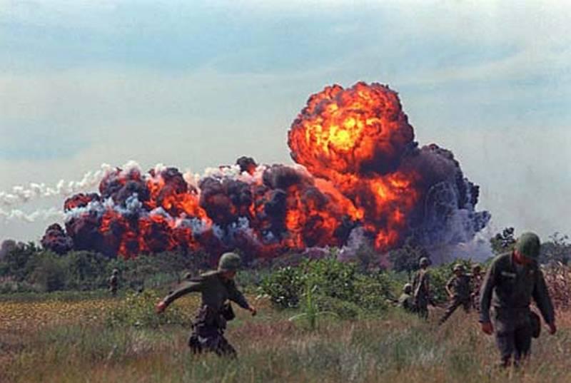 Vietnam War Napalm