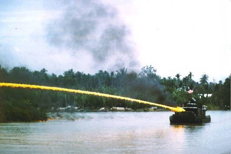 Napalm Used During War