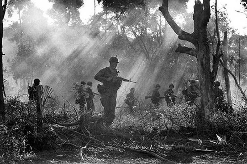 Vietnam War Jungle Patrol