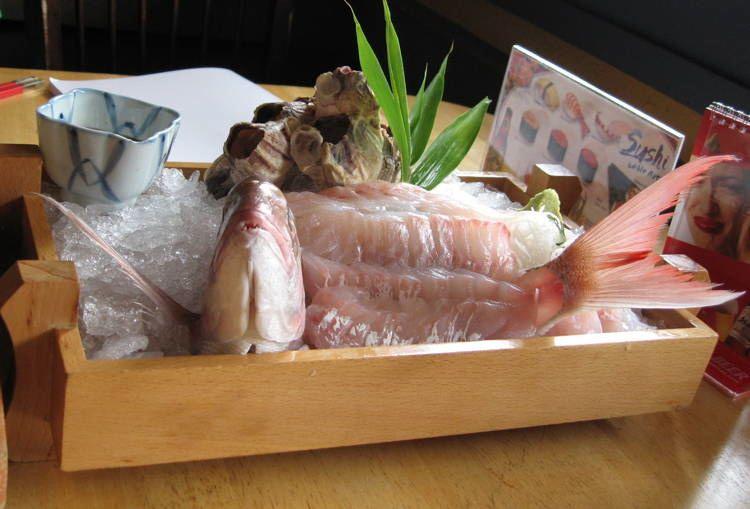 Bizarre Seafood Ikizukuri 1