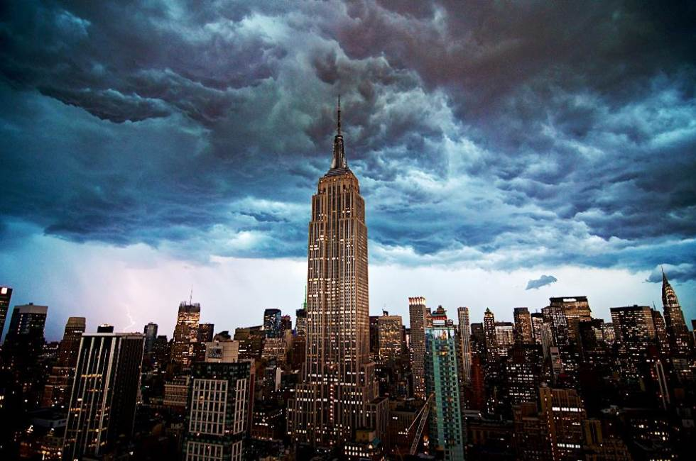 Derecho Storm Over New York City Picture