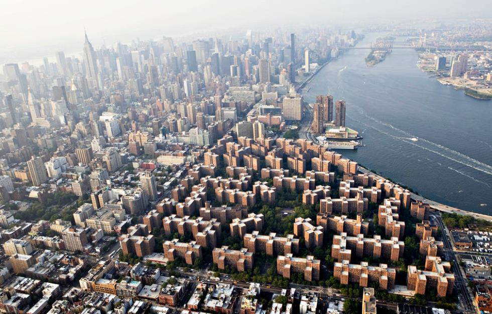 Incredible Photographs Of New York City Stuyvesant Town Overhead