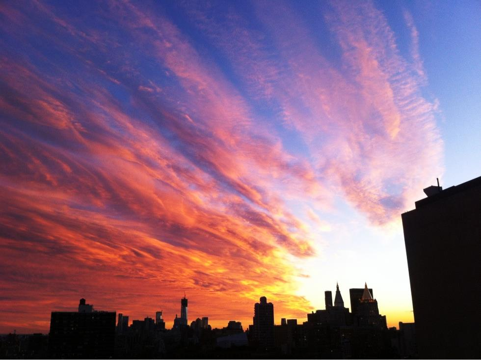 Incredible New York City Photographs Sunset