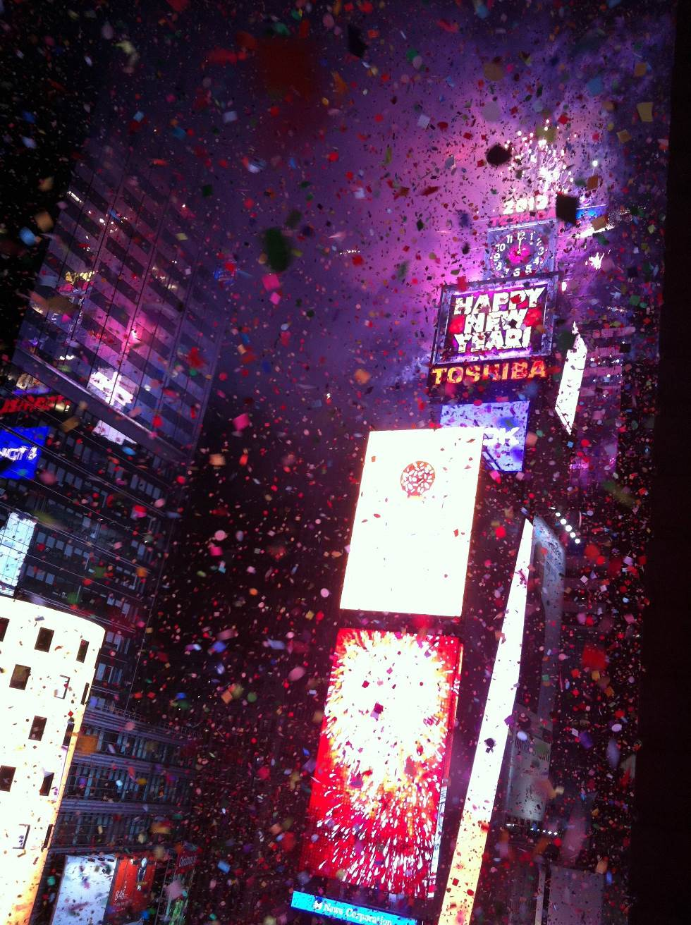 Incredible Photographs Of New York City Times Square New Years Eve