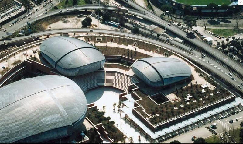 Renzo Piano Parco della Musica