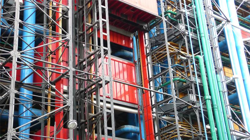 Renzo Piano Designs Pompidou 2