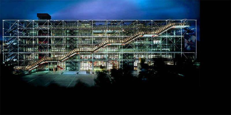 Renzo Piano Designs Pompidou
